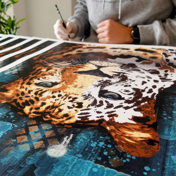 LEOPARD I BIG FIVE PRINT EDITION