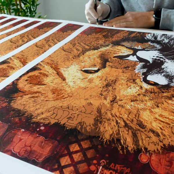 LION I BIG FIVE PRINT EDITION