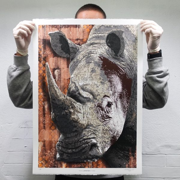 RHINO I BIG FIVE PRINT EDITION